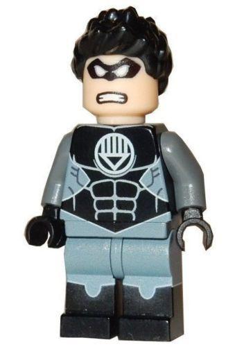 HAL JORDAN BLUE LANTERN Minifigure **NEW** LEGO Custom Printed