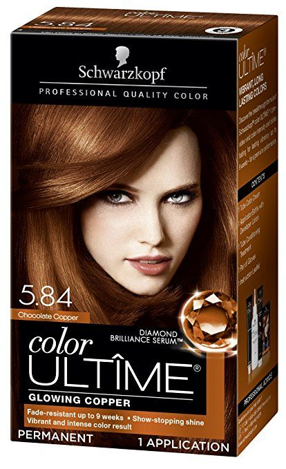 Amazon Com Schwarzkopf Ultime Hair Color Cream Light Copper Red