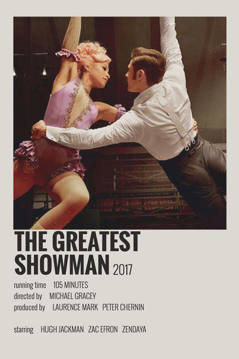 the greatest showman minimalist poster