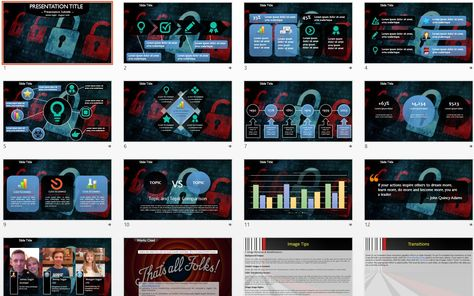 Computer security powerpoint template free powerpoint templates computer security powerpoint template free powerpoint templates pinterest computer security toneelgroepblik Image collections