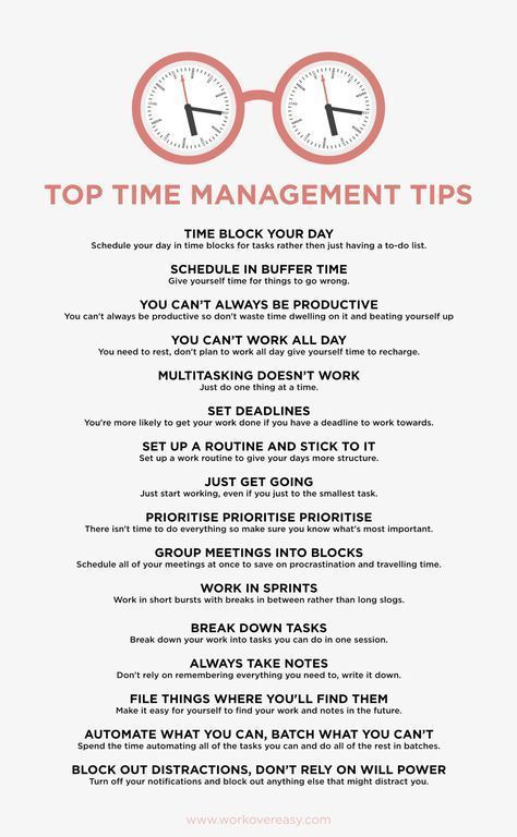 """Time Management Tips I Wish Someone Had Told Me"" Natalie 4/20/2017 ""Remembering that you're only human and allowing yourself to have slow days and rest makes you more productive in the long run."" #Productivity #TimeManagement"