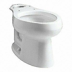 Kohler Toilet Bowlvitreous Chinaelongated K 4198 0 White Toilets Ideas Of Toilets Toilets Kohler Toilet Toilet Bowl Toilet