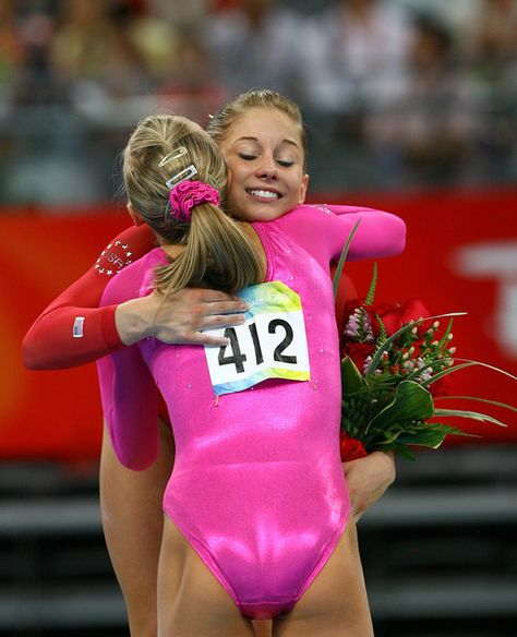 Shawn Johnson and Nastia Liukin Photos Photos: Olympics Day 7 – Artistic Gymnastics - Olympic Gymnastics