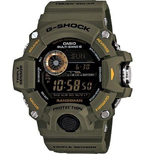 Casio Men's GW9400 3 Rangeman Watch, 53mm in 2020   Casio g G0fTJ