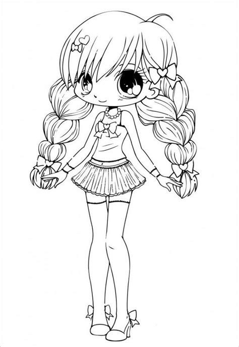 Gacha Life Coloring Pages Characters In 2020 Coloring For Kids
