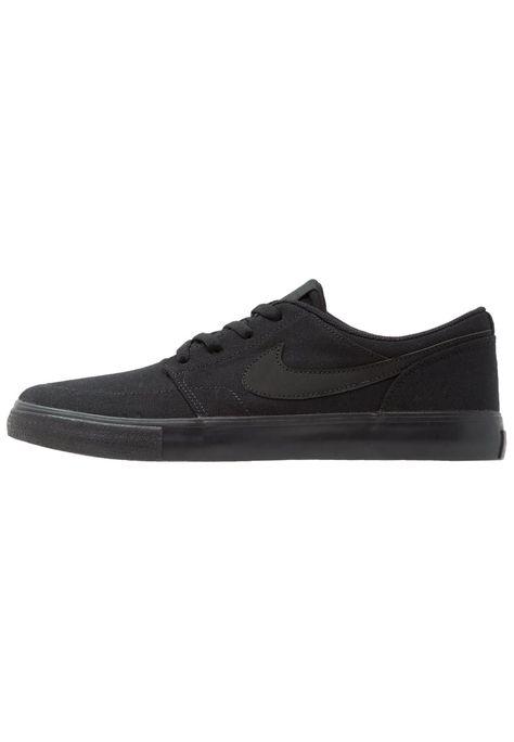 8b161dab595 Haz clic para ver los detalles. Envíos gratis a toda España. Nike SB  PORTMORE II SS CNVS Zapatillas black  Nike SB PORTMORE ...
