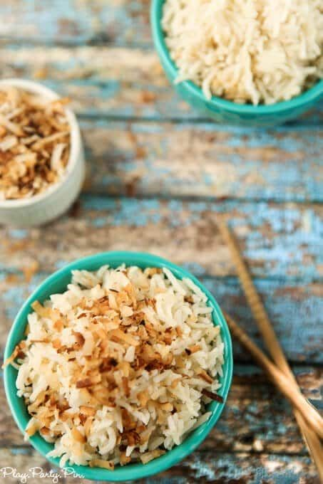This Coconut Rice Recipe Looks So Yummy The Perfect Asian Side