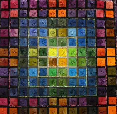 Tabelle 11 Maya By Marianne Falkuss Textile Fiber Art Quilts