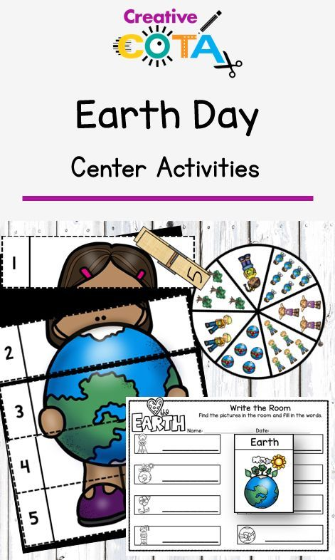 Earth Day Recycling Writing And Math Differentiated Worksheets And