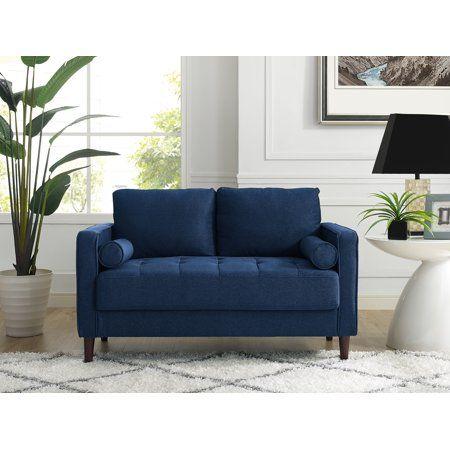 Home Navy Blue Sofa Love Seat Blue Sofa