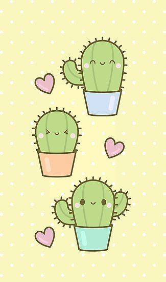 kawaii cactus - Google Search