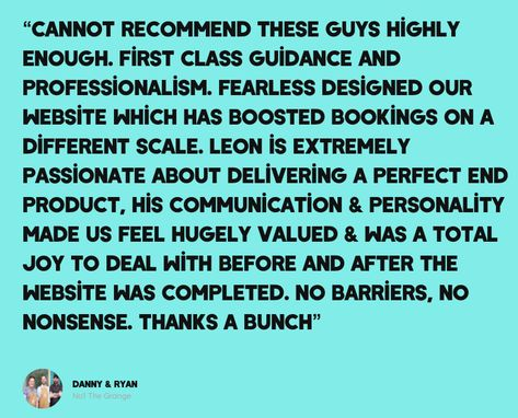 Some Amazing Feedback From The Guys At No 1 The Grange Check Out The Fearless Creative Website To In 2020 Restaurant Website Design Website Design Restaurant Website