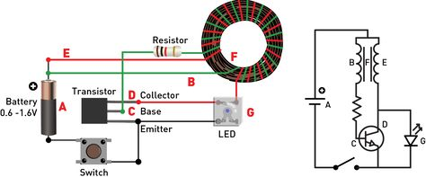 Make a super joule thief light circuits joule thief and arduino ccuart Image collections