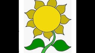 Paling Populer 17 Gambar Bunga Matahari Sket Di 2020 Bunga