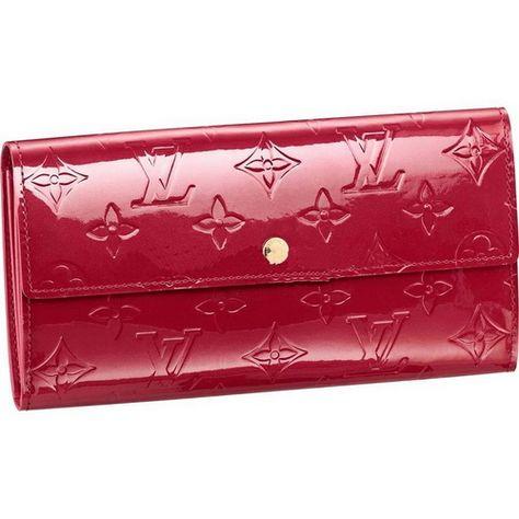 c5133b0e3d Louis Vuitton Monogram Vernis Sarah Wallet M93530 Aqn | FASHION ...