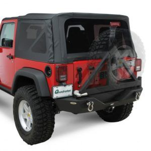 Textured Black Smittybilt Xrc Rear Bumper For Jeep Wrangler Jk Jeep Wrangler Jeep Wrangler Jk Jeep