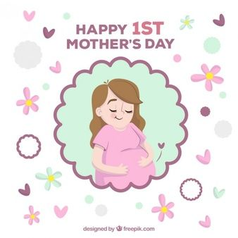 Download Happy Pregnant Woman Mother S Day Card For Free Mother S Day Greeting Cards Happy Mothers Day Mother S Day Background