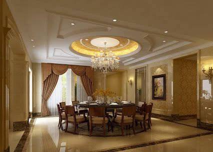 Interior, : Attractive Image Of Dining Room Decoration Using White ...