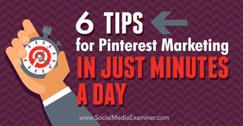 7 Pinterest Tools for Marketers : Social Media Examiner