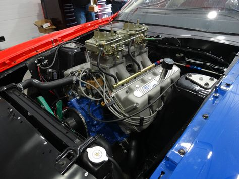 Ford Mustang Historic Pro Stock , It was a plain Jane, Grabber Blue, 6 cylinder, 3-speed,