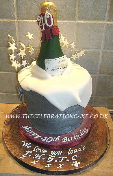 Remarkable 40Th Birthday Cake Ideas For Her Pinterest The Cake Boutique Personalised Birthday Cards Veneteletsinfo
