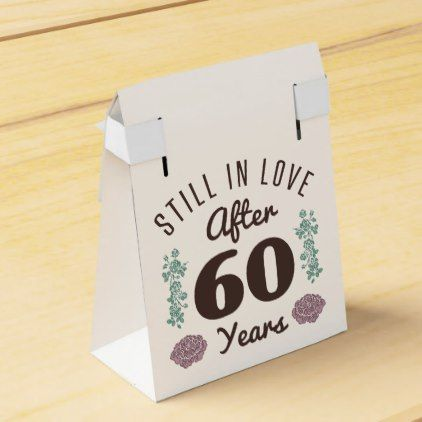 Cute 60th Anniversary Favor Box Marriage Gifts Diy Ideas Custom Anniversary Favors Marriage Gifts Favor Boxes