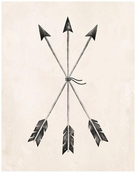 Arrows Art Print - 8X10, 11X14