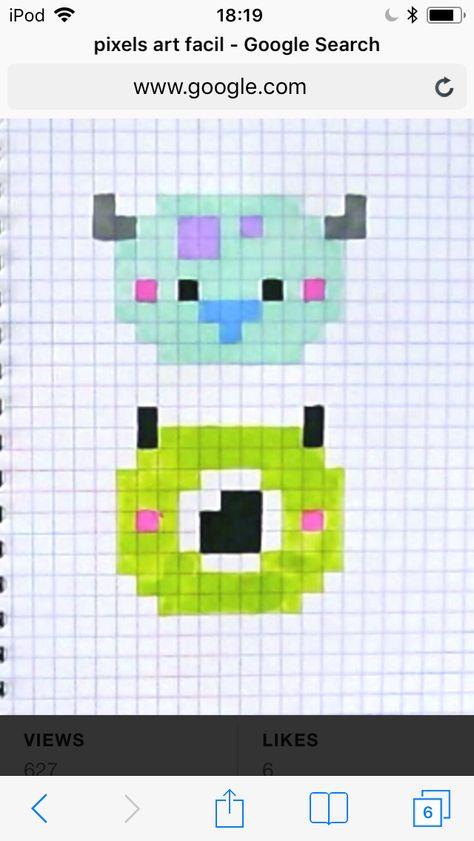 Pixel art bob et suli