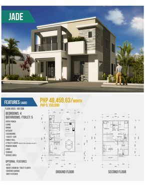 Simple 2 Storey House Design With Floor Plan Awesome 2 Storey