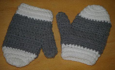 comment trouver sélectionner pour véritable comment acheter Patron tutoriel de moufles au crochet pour petit enfant - La ...