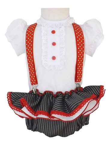 29ef278ad Ranita para niña estilo campero | faldas de gitana niñas | Vestido ...
