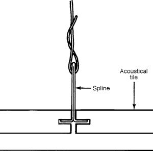 Concealed Spline Ceiling System Www Energywarden Net