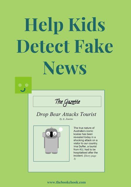 Help Kids Detect Fake News Fake News Fake News Lessons Helping