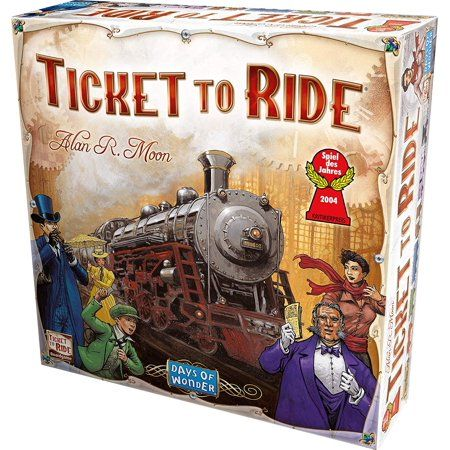 Walmart Ticket To Ride Board Game Ticket To Ride Train