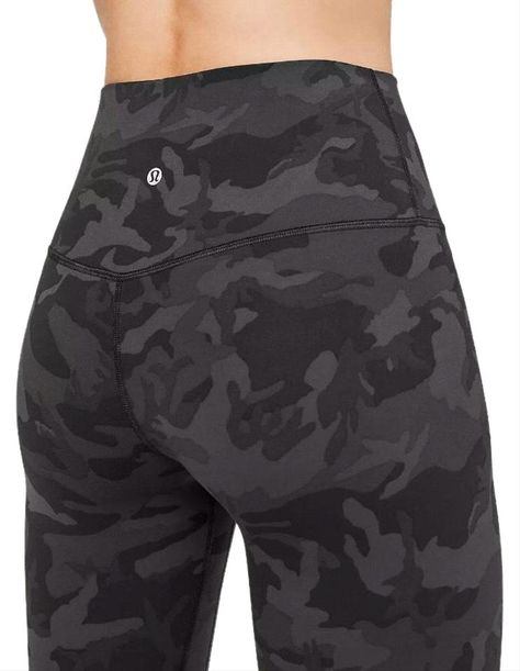 Lululemon   Gray Camo Align Activewear Bottoms Size 6 (S, 28)