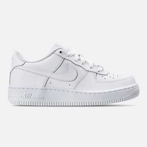 Shop White Nike Air Force Ones on Wanelo