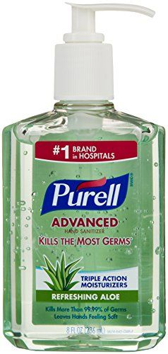 Purell Instant Hand Sanitizer With Aloe 8 Oz You Can Get More