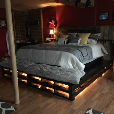 King Size Fancy Farmhouse Bed Diy King Bed Diy King Bed Frame