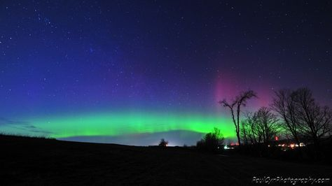 Northern Lights Tuesday Night in Maine.  Paul Cyr Photography: http://www.crownofmaine.com/paulcyr/olympus-daily-photos/