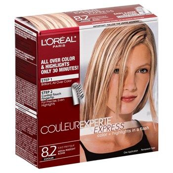 L Oreal Couleur Experte 8 2 Medium Iridescent Blonde Harmon Face Values Loreal Natural Hair Color Colored Highlights