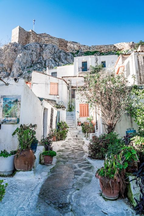 Neighbourhood in Athens, Greece #athens #greece #europeplaces