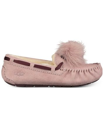 26a4708fd48 UGG® Women's Dakota Moccasin Pom Pom Slippers | macys.com | new tat ...