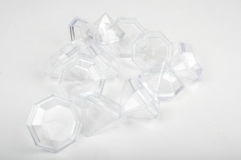 PVC Invitation clear boxes for party favors packaging Oval Tube 2.5 x 9-1 dozen weddings