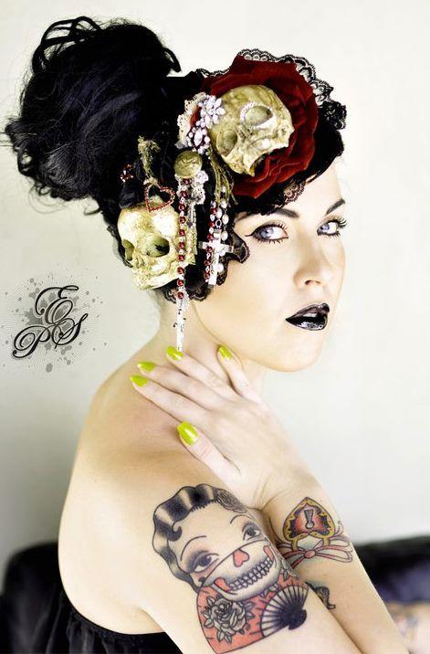 tattoed girl