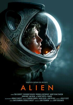 Alien Movie Poster Sigourney Weaver Ripley Large A3 Size Quality Canvas Print Fashion Home Garden Hom Alien Movie Poster Movie Posters Horror Movie Posters