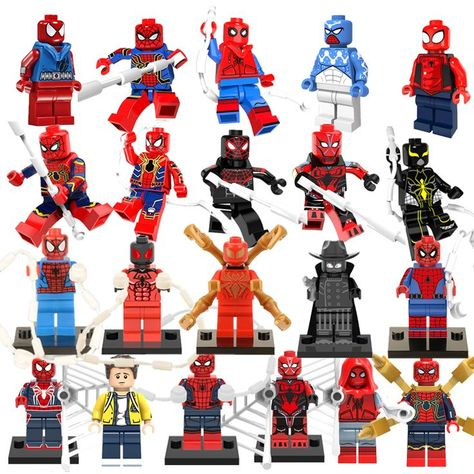 Bausteine Marvel/'s Modell Avengers Wolverine Deadpool Groot Venom Figur Kind For