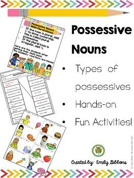 Possessive Nouns Activities And Practice Sheets Possessive Nouns Possessive Nouns Activities Nouns Activities Possessive nouns free worksheets 5th