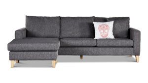 Milano 3 5 Seater Chaise Sofa Couch Corner Couch