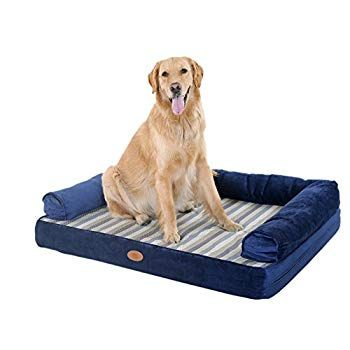 Pls Birdsong Lounger Sofa Firm Orthopedic Dog Bed Foam Dog Bed Dog Beds With Removable And Washable Cover Visit The Imag Orthopedic Dog Bed Dog Bed Dogs
