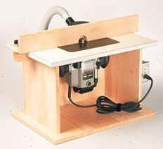 Diy portable bench top router table woodworking ideas build a router table with these 9 free downloadable diy plans greentooth Choice Image